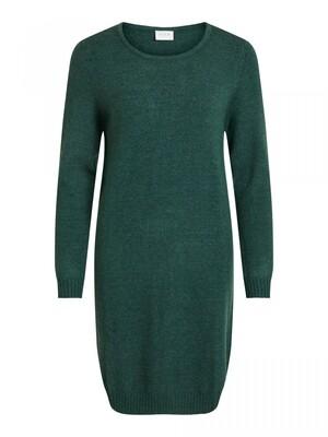 VIRIL L/S KNIT DRESS - NOOS Pine
