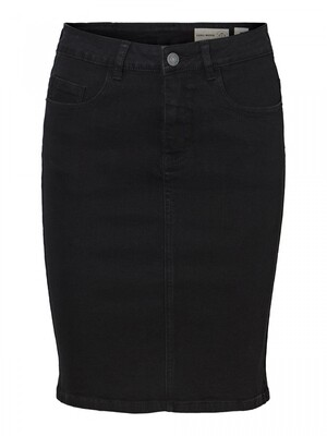 VMHOT NINE HW DNM PENCIL SKIRT GA NOOS Black