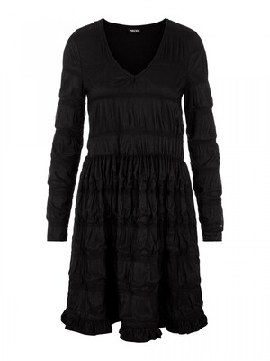 PCBORA SMOCK LS DRESS NX Black