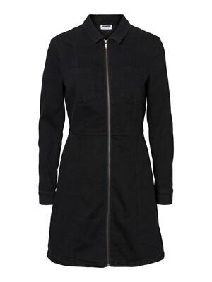 NMLISA DNM ZIP DRESS SU019BL BG NOOS Black