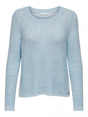 ONLGEENA XO L/S PULLOVER KNT NOOS Cashmere Blue