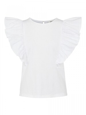 OBJELLA S/S TOP 115 .C Bright White