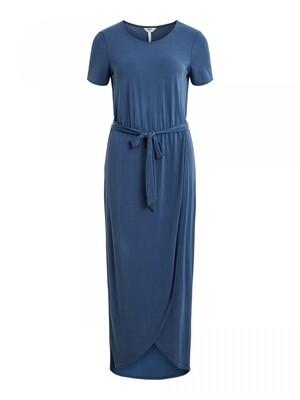 OBJANNIE NADIA S/S DRESS SC Ensign Blue