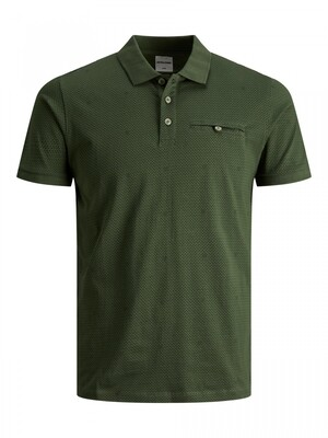JCOBARBAR POLO SS NL Rifle Green/SLIM
