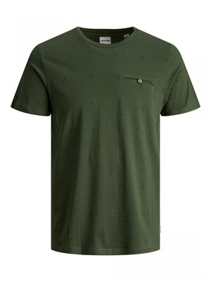 JCOBARBAR TEE SS CREW NECK NL Rifle Green/SLIM