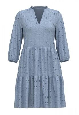 VIKAWA 3/4 SLEEVE DRESS/RET/KA/SU Cashmere Blue