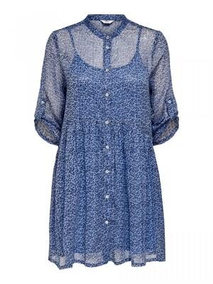 ONCHICAGO LIFE SL PRINT DNM DRESS FF Dazzling Blue