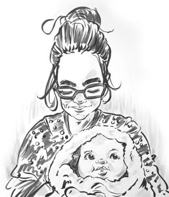 Caricature (in Black & White)