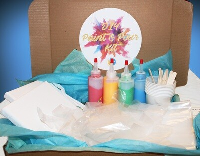Paint and Pour Kit