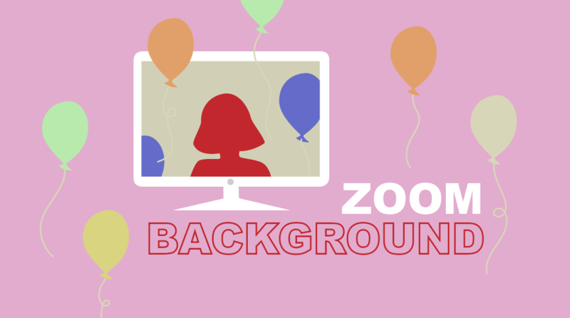 Custom Zoom Party Background