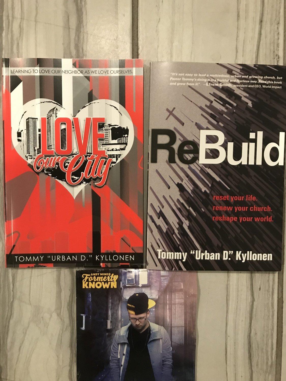 Love Our City, ReBuild & CD