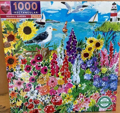 Seagull Garden Jigsaw Puzzle (1000 piece)
