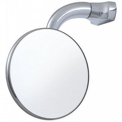 Круглое зеркало, на изогнутой ножке 4'