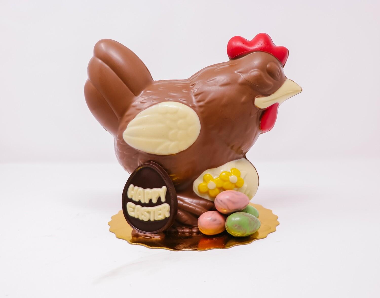 Jumbo Chocolate Hen