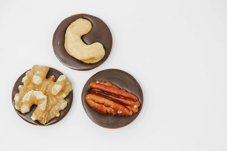 Dark Chocolate Nutty Bites
