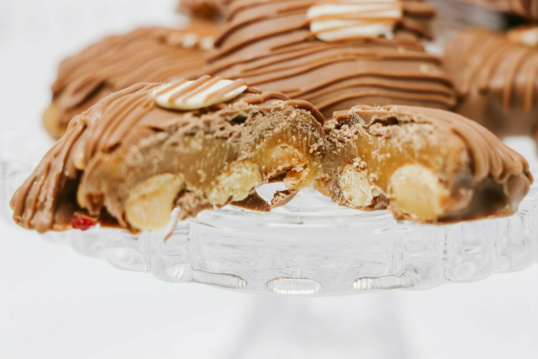Go Nuts: Caramel Almond Dreams