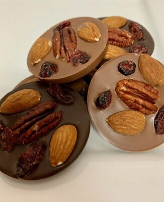 Fruit & Nuts Medallions (9 pc box)
