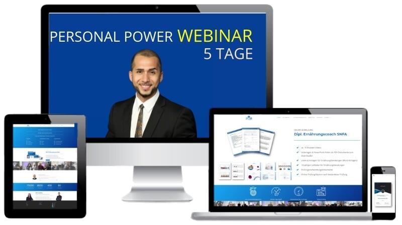 Personal Power Schweiz Webinar