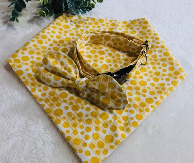 Sunshine Dot Bandanna Set