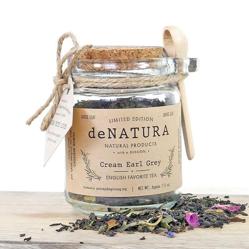 Cream Earl Grey - Glass Jar