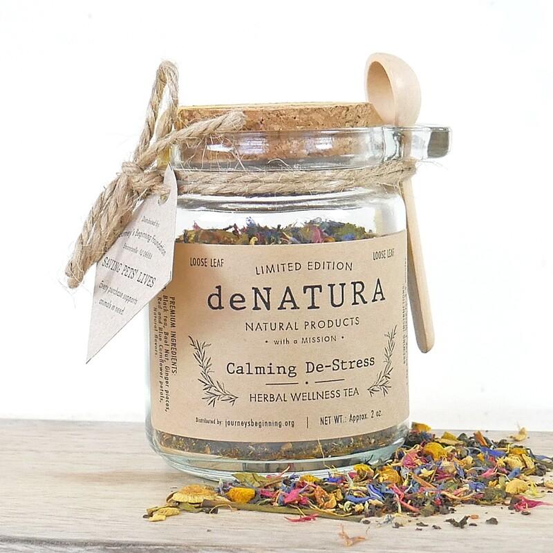 Calming De-Stress - Glass Jar