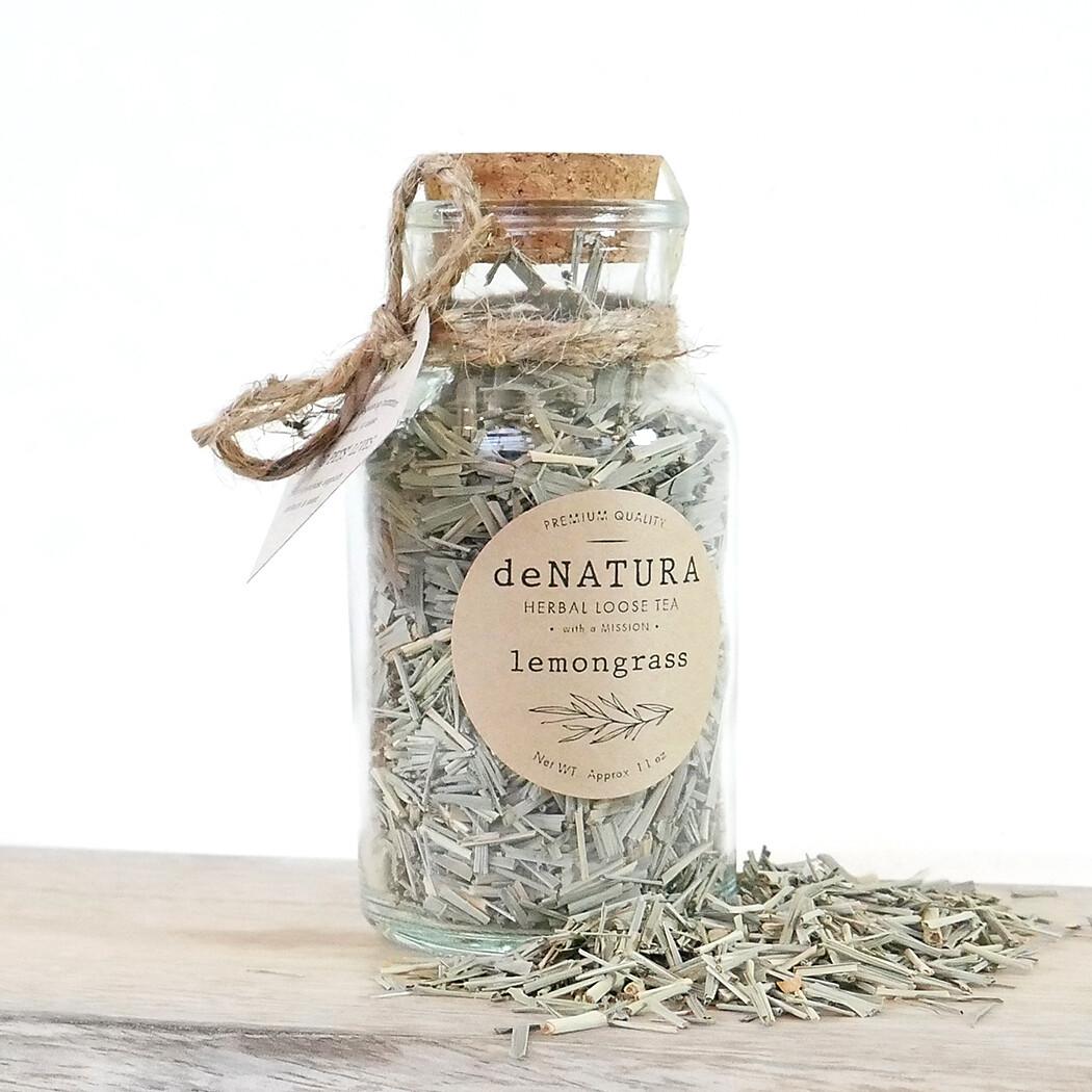 Lemongrass Leaves - Glass Bottle
