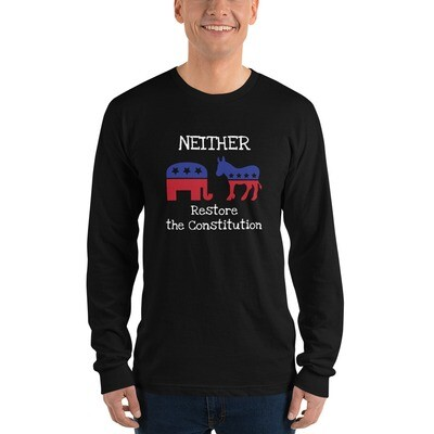 Restore The Constitution Long Sleeve t-shirt