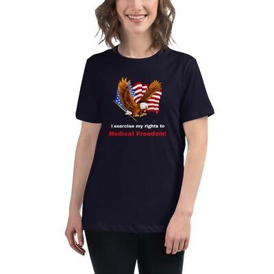Medical Freedom Lady's T-Shirt