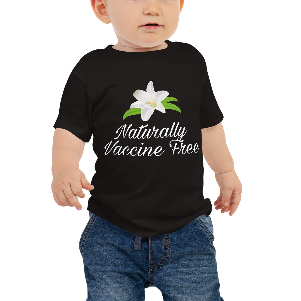 Naturally Vaccine Free Baby Jersey Short Sleeve Tee