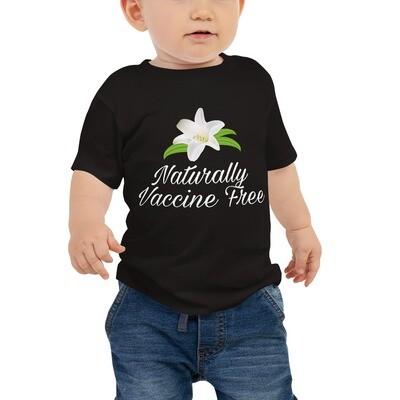 Naturally Vaccine Free Baby Jersey Short Sleeve Tee
