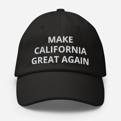 Make California Great Again Cotton Cap