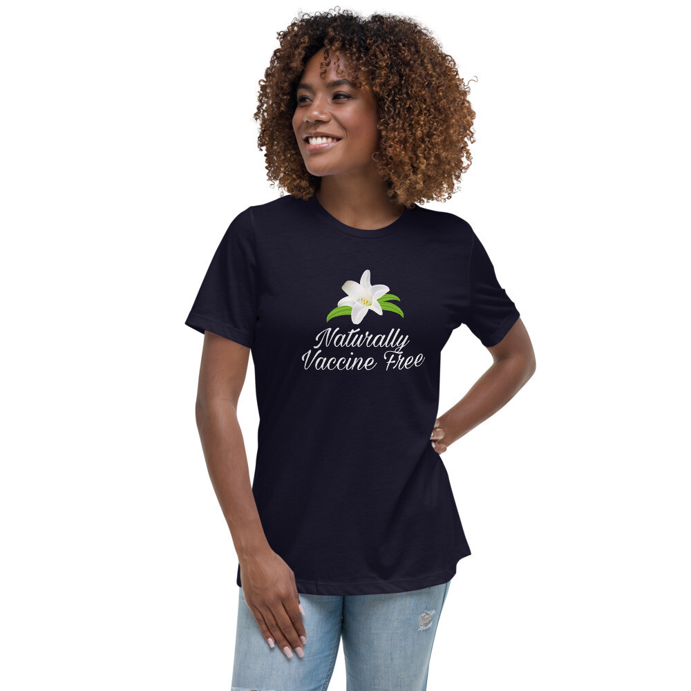 Naturally Vaccine Free Lady's T-Shirt