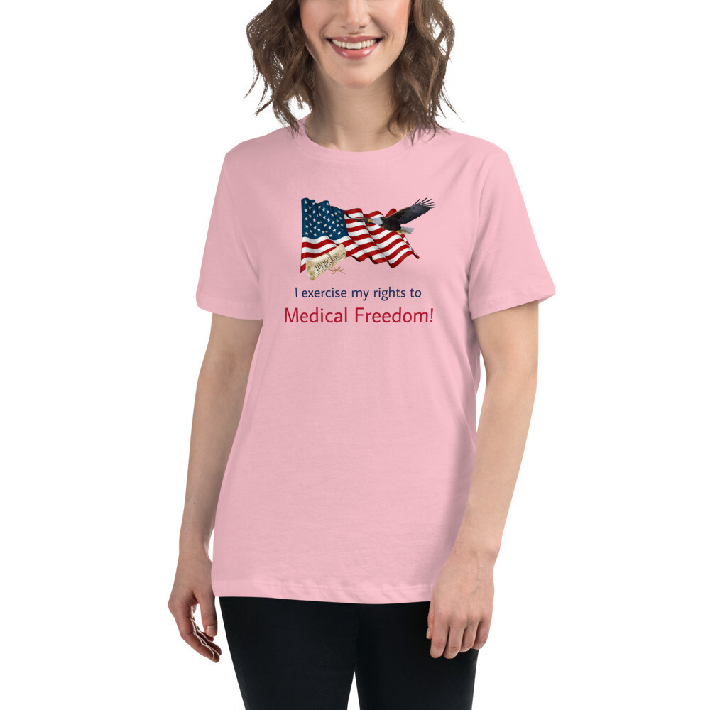 Medical Freedom Lady's T-Shirt