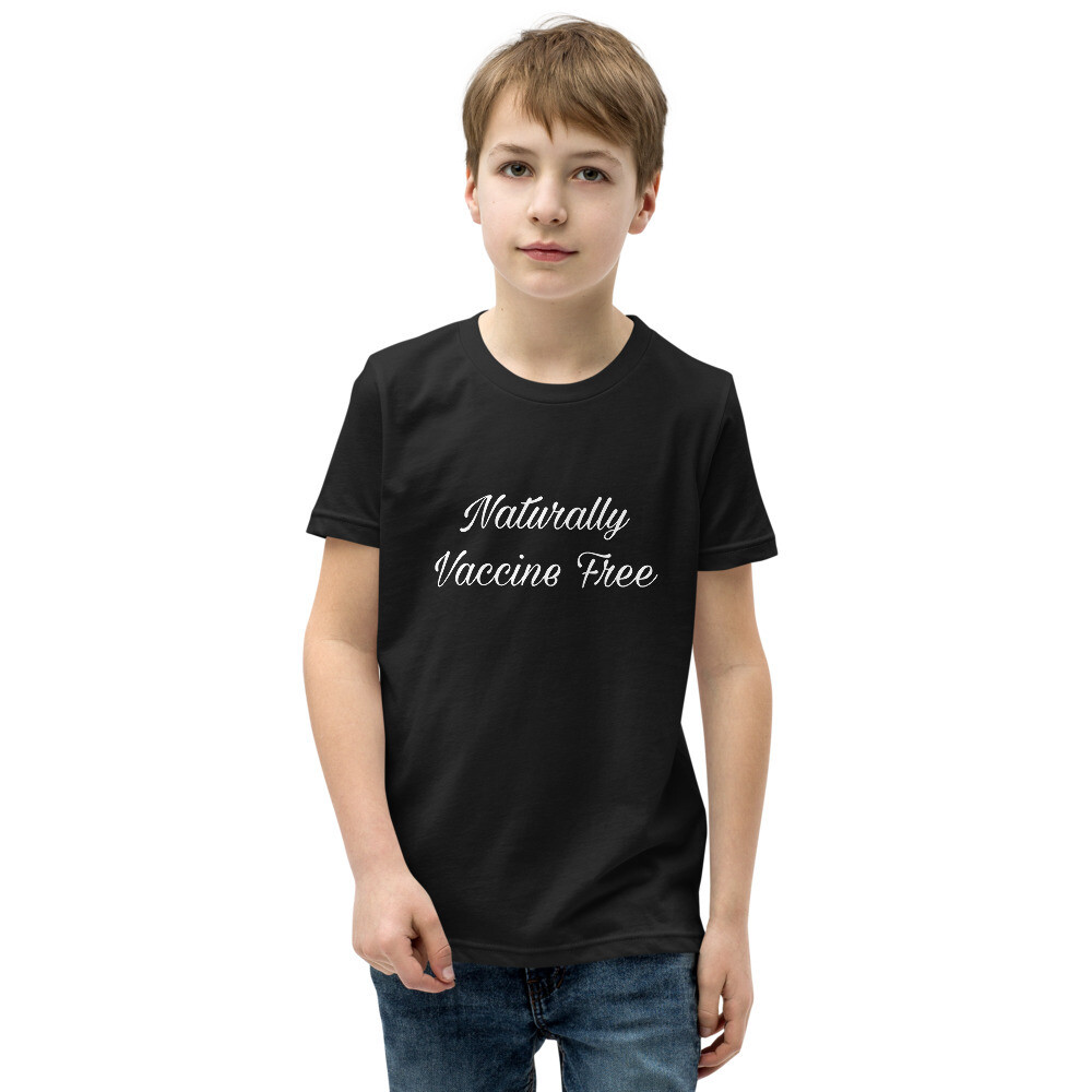 Naturally Vaccine Free Youth T-Shirt