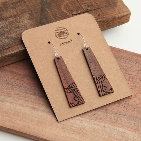 Tall Grass Prairie Earrings by Moku