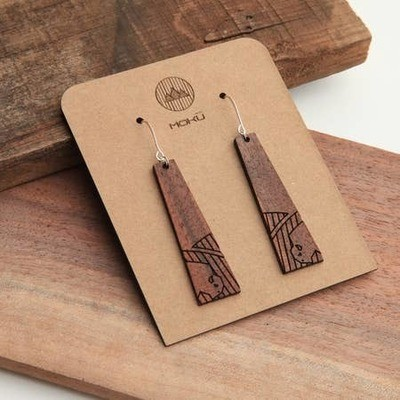 Tall Grass Prairie Earrings by Moku