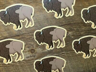 Bison Sticker Noteworthy