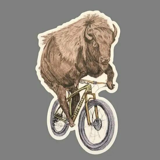 Dark Cycle Buffalo Sticker