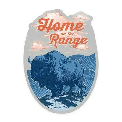 Home on the Range Sticker