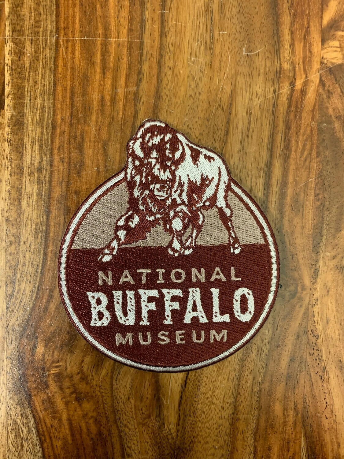 National Buffalo Museum Logo Patch