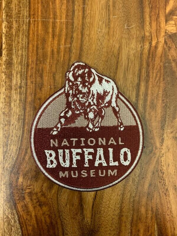 National Buffalo Museum Logo Patch