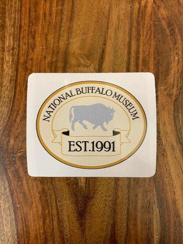 National Buffalo Museum (Tan) Sticker