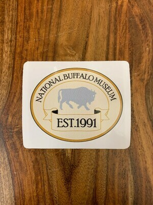 National Buffalo Museum (Tan) Sticker