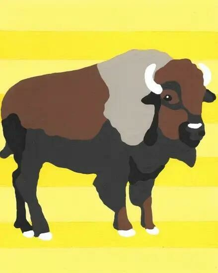 Buffalo Paint Kit
