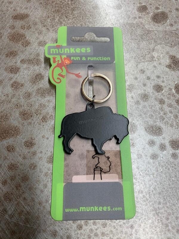 Buffalo Bottle Opener Keychain