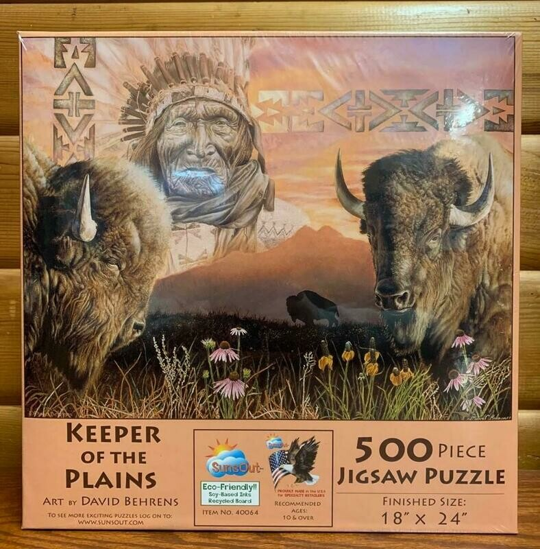 Keeper of the Plains Puzzle