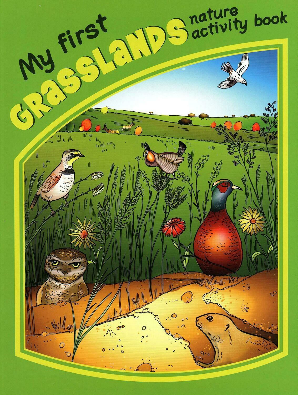 My First Grasslands Nature Activity Book