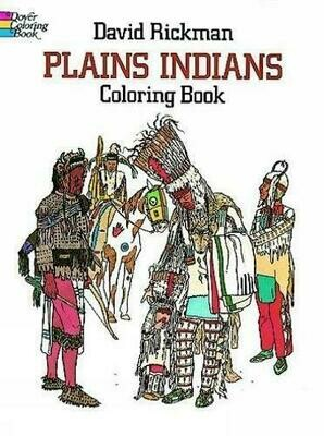 Plains Indians Coloring Book