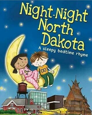 Night-Night North Dakota (A Sleepy Bedtime Rhyme)