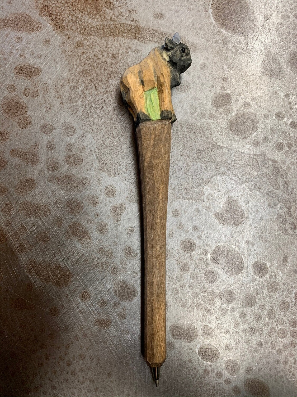Wooden Buffalo Pen